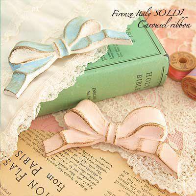 イタリア フィレンツェ Firenze Italy SOLDI【Carousel ribbon B】