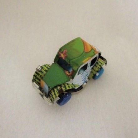 マグネット ミニカー ブリキ缶リメイク(マダガスカル)④【郵便お届け】