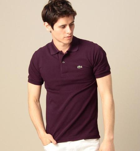 <LACOSTE> BASIC POLO/ポロシャツ