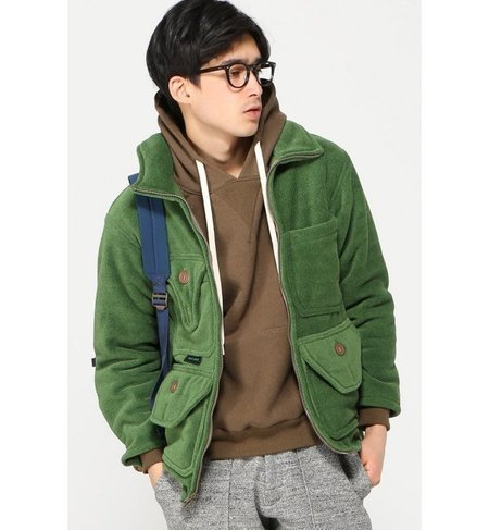 DAY ONE / デイワン:CAMOFLAGE DAY ONE PARKAS POLOR T