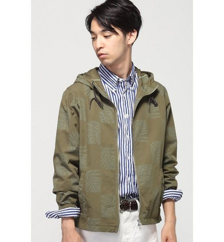 FOREST CLOUD / フォレストクラウド:HOODED JACKET COTTON / ブルゾン
