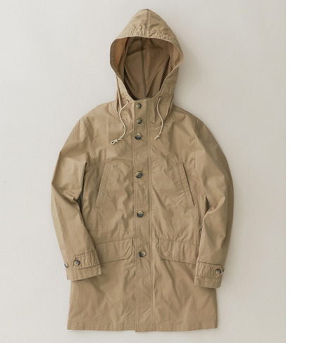 UR TYPEWRITER HOODED PARKA