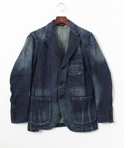 UR FREEMANS SPORTING CLUB JP OLD DENIM SHACKET