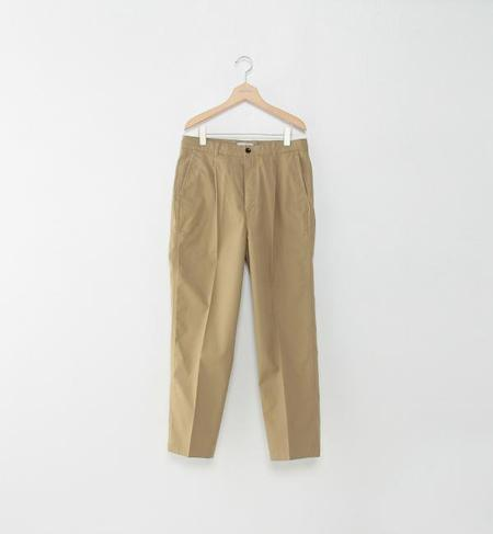 <Steven Alan> OXFORD 1PLEAT BAGGY TAPERED/パンツ