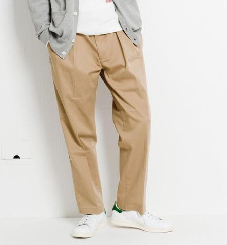 SC STRC CHINO 2PLEAT 9/L パンツ