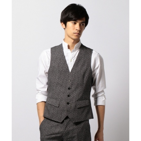【AIR SUITING】 クールドッツストレッチ ジレ