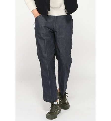 STABILIZER GNZ / スタビライザー : Flannel lined trouser / デニムスラックス