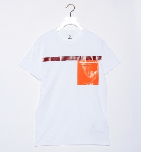 TOGA ODDS&ENDS / ラバー ポケ Tシャツ