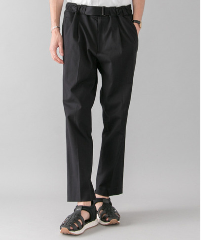 UR EQUIPMENT BY URBAN RESEARCH DOBBY PARACHUTE PANTS