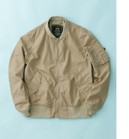 UR ALPHA INDUSTRIES×URBAN RESEARCH iD 別注MA-1 JACKET