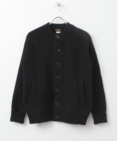 UR FREEMANS SPORTING CLUB JP HEAVY HALF CARDIGAN