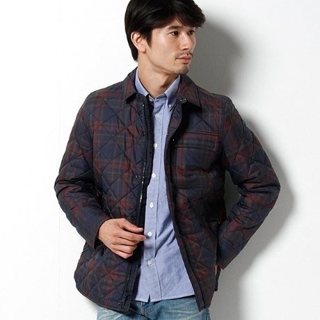 JS LOCKHEED QUILTED OUTERSHIRT