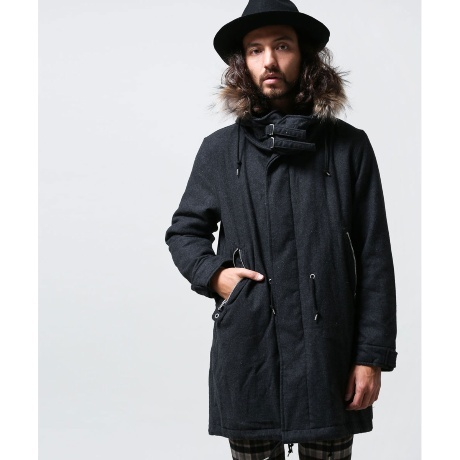 NU WOOL M-51 MIX PARKA