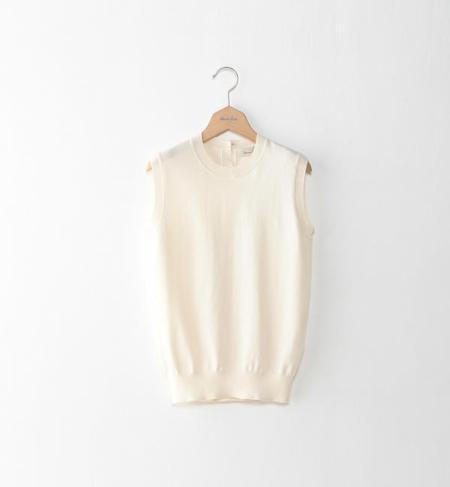 <Steven Alan>COTTON CASHMERE VEST/ニットベスト