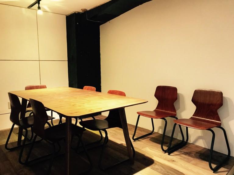 【渋谷】basement cafe(ベースメントカフェ)ミーティングルーム
