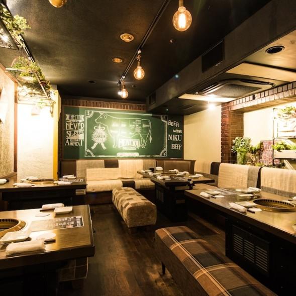 熟成焼肉MEATYOU栄店 1人焼肉可能なアットホームなお店