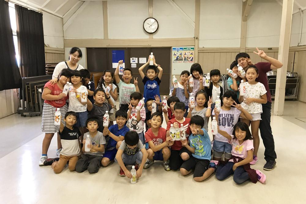 青海小学校3年生見学