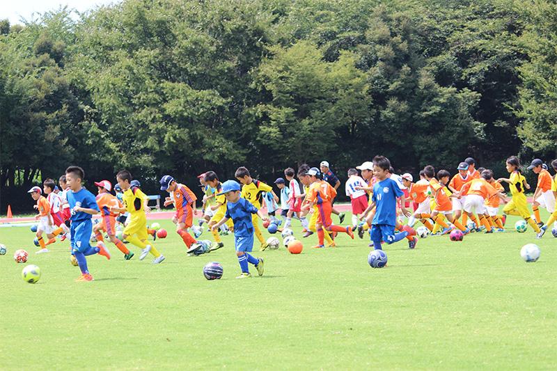 第5回デンカビックスワンジュニアサッカーフェスティバル