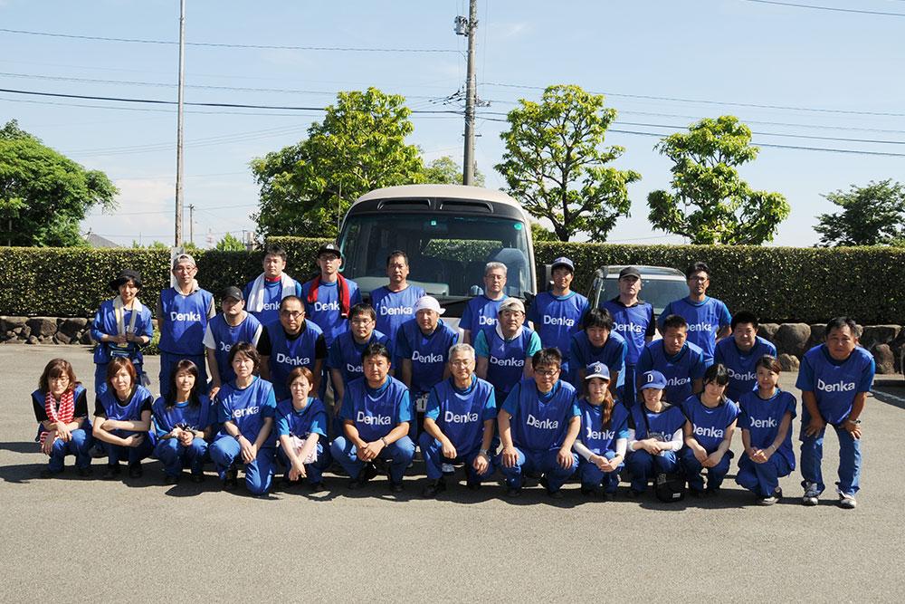 九州北部豪雨災害に対する支援活動