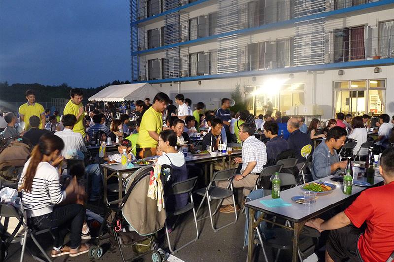 親子工場見学_夏祭り