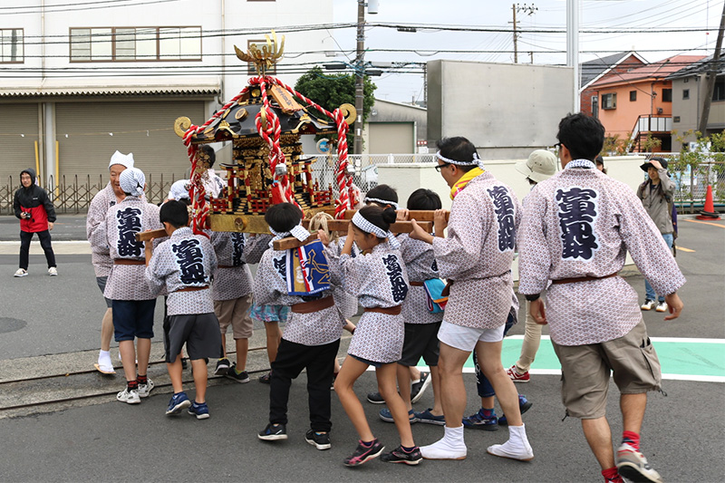 冨士見町内会のお祭り