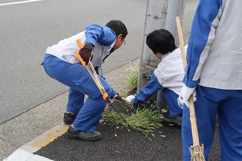 周辺清掃活動