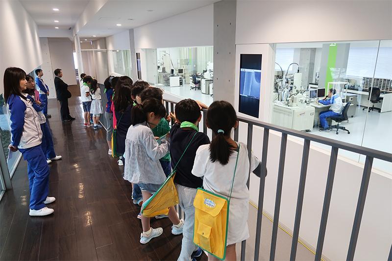 町田市第五小学校社会科見学