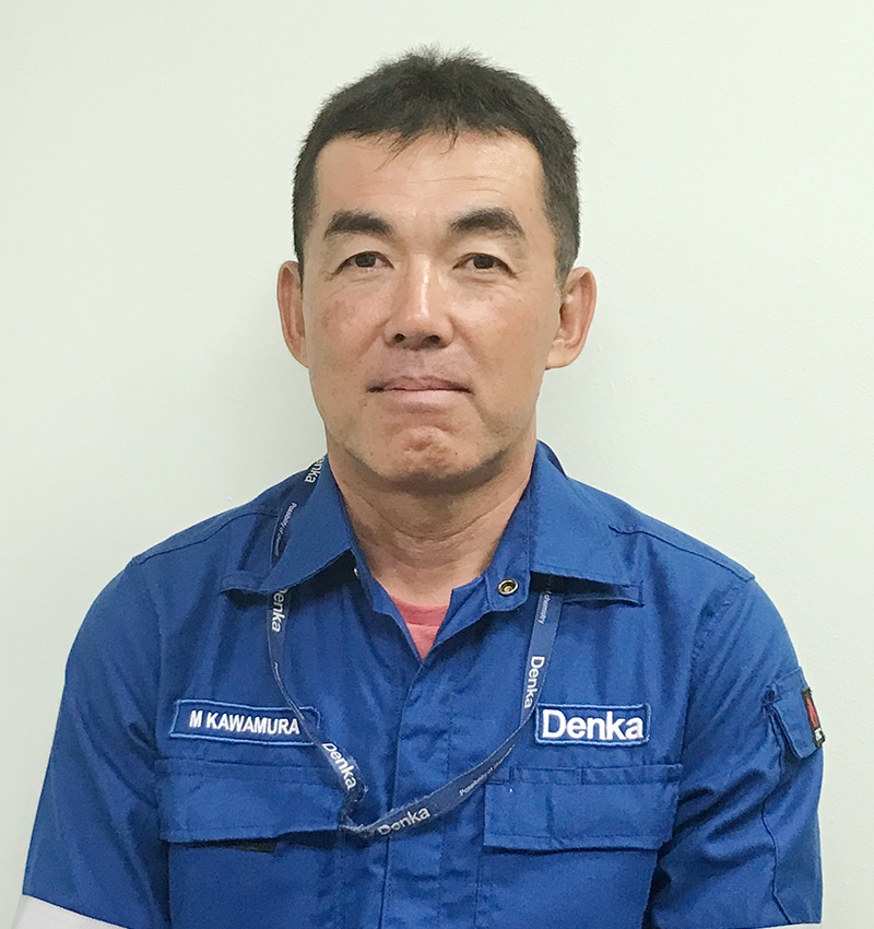 Michio Kawamura Deputy Managing Director, Plant