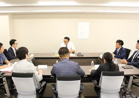 経営層と従業員との対話