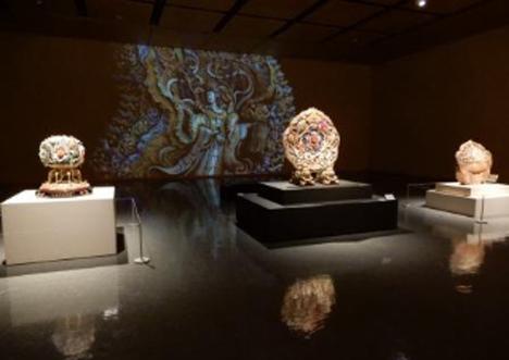 3D映像で公開された『天女(まごころ)像』の原型