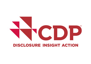 """Received """"A- """"on CDP climate change questionnaire."""