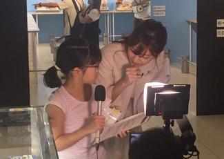 東海テレビ森アナウンサーからアナウンス指導