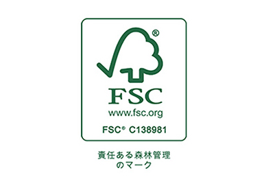 Sticker for FSC certificated