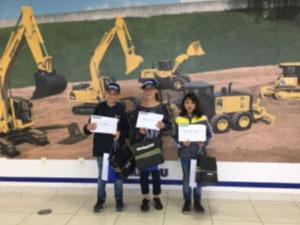 Presenting flight tickets to Ecuador