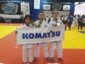 All three won Gold medals at the Pan American Judo Championship