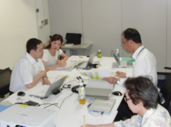 Executing a review at the Head Office