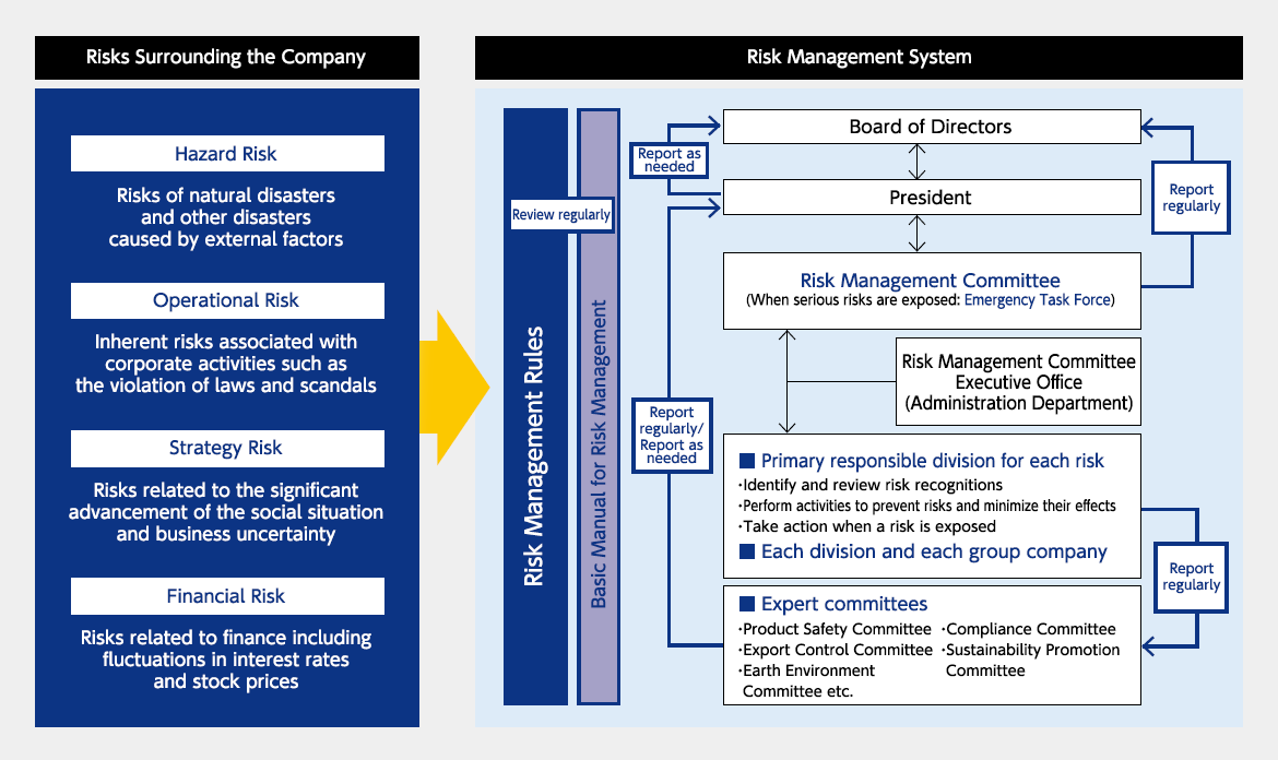 Risk Management Structure