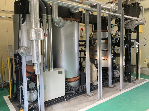 Ibaraki Plant biomass boiler