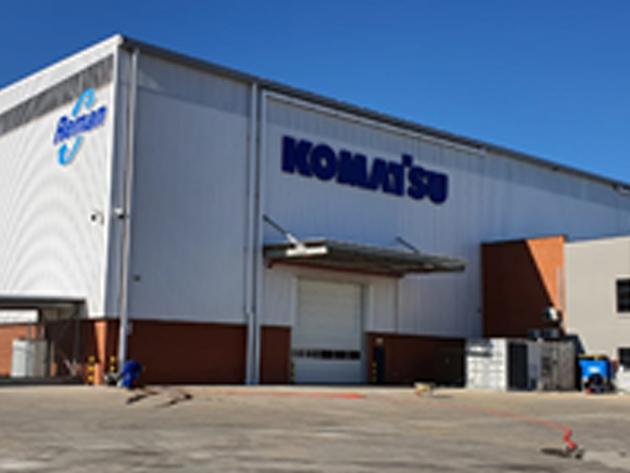 Komatsu Africa Holdings' new Reman building