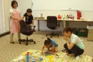 The day-care center at the KOMATSU Way Global Institute