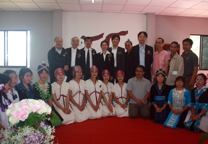 タイの学校へ施設を寄附