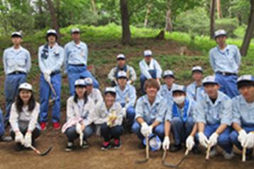 金山赤松林の保全活動