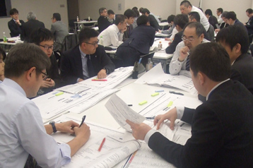 Company-wide BCP creation workshop