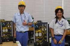 Thai university student internships