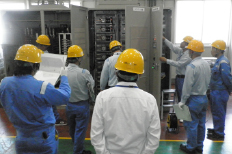 Technology training (high voltage inverter)