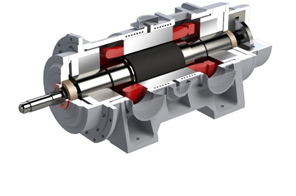 Large-capacity high-speed PM motor