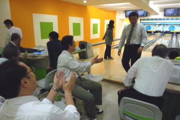 Internal bowling tournament