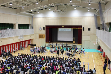Sponsored the NHKSO Concert at Hosui Elementary School