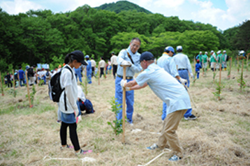 Participation in Tree-Planting and Juvenile Fish Release Activities