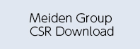 Meiden Group CSR Download